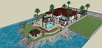 海边别墅模