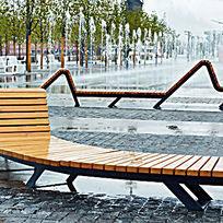 旱喷广场创意坐凳 JPG
