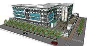 靠街校园规划设计