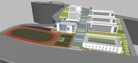 现代小学规划设计