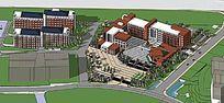 现代校园规划设计