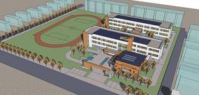 现代学校规划模型