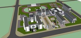 现代中式校园设计