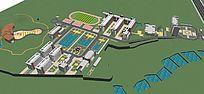 校园景观建筑设计