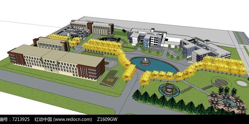 校园整体规划设计图片
