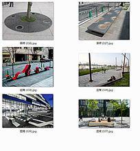 广场上创意坐凳景观 JPG