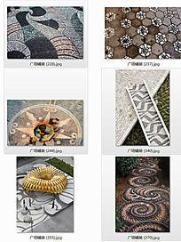 花纹铺装景观意向图