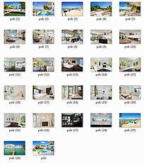 美国迈阿密海滩度假别墅景观