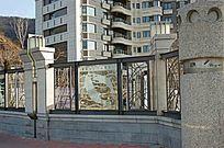住宅区围墙护栏 JPG
