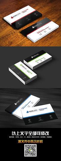 简洁企业通用名片设计