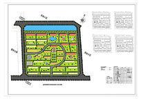 彩色平面PSD分层住宅设计