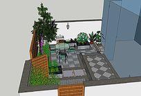茶院庭院景观