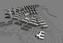 城市道路住宅小区