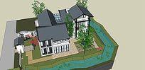 多层住宅庭院景观