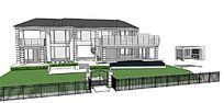 花园别墅设计模型