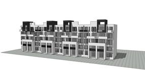 徽派住宅建筑模型