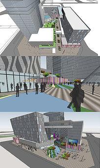 商业综合广场概念设计