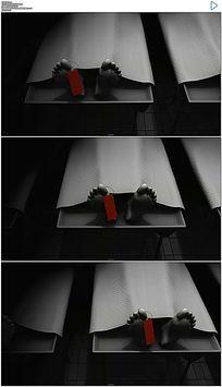 太平间停尸房3D视频素材