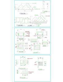 车库通风口施工图 CAD