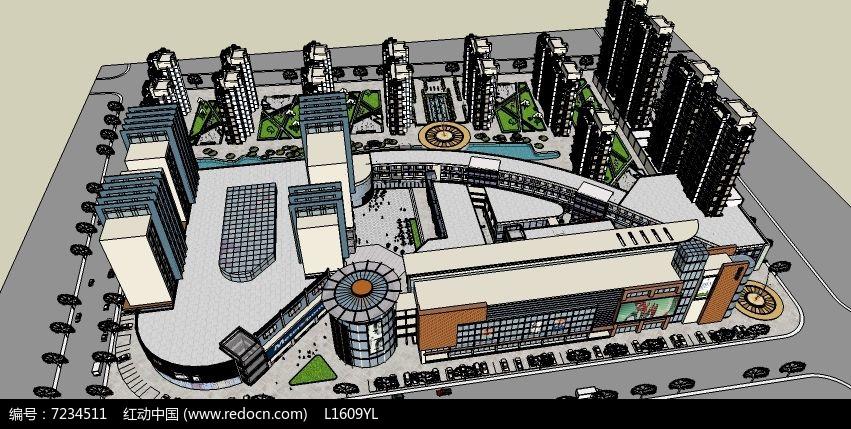 商业街住宅设计图片