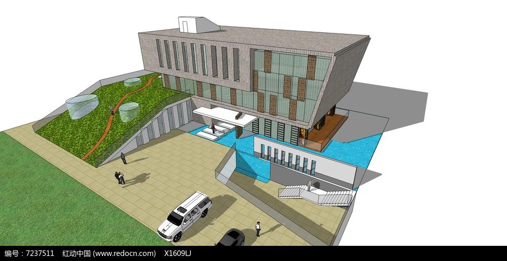 营口高层建筑文化馆图片