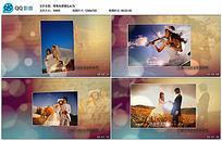 会声会影X8唯美光斑婚礼写真相册