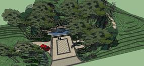 自然生态产园入口