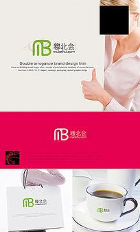 MB字母LOGO设计