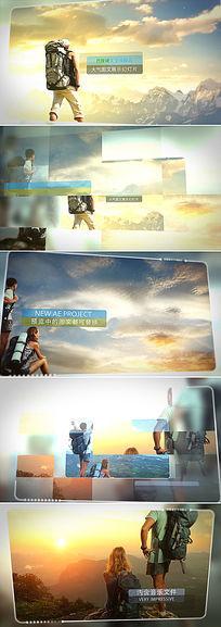 ae大气图文宣传展示模板