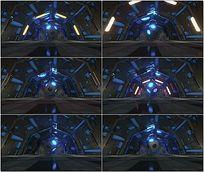 科技感空间立方体VJ视频 mov