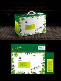 绿色果蔬包装礼盒
