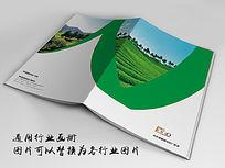中国茶文化画册封面indd源文件下载