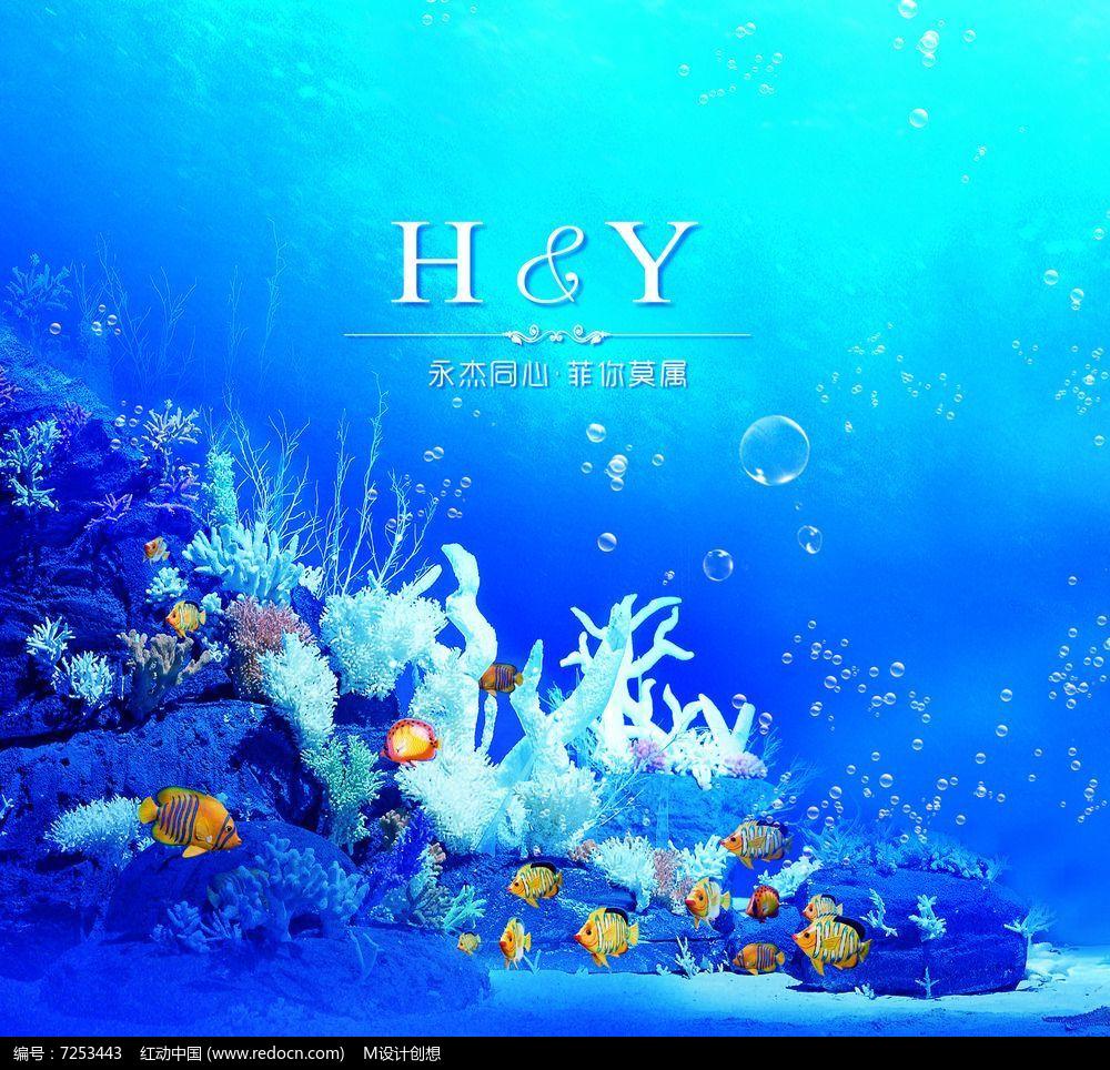 精美海底世界设计图片