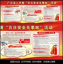 企业工厂百日安全无事故防火宣传栏