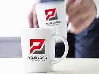 红灰大气电器logo