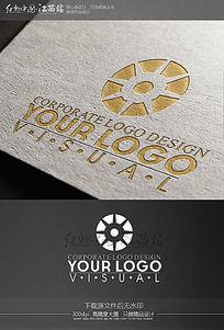 简约创意科技公司logo设计
