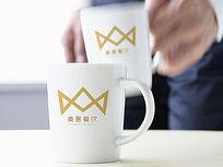 金色创意餐饮logo