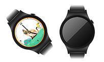 炫酷时尚矢量手表素材模板 AI