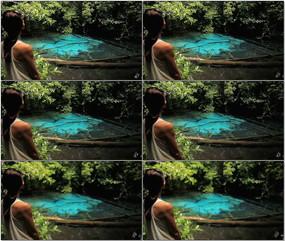 美女丛林清澈水潭视频 mov