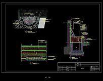 水池施工图纸 CAD