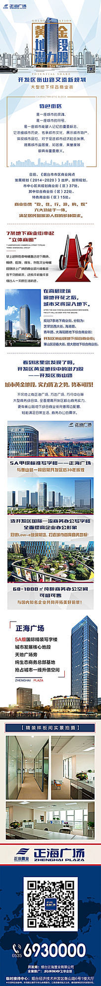 微信商业街地产广告模板