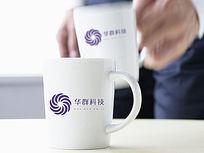 紫色太阳科技logo