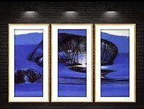 高清现代油画装饰画