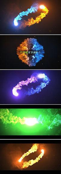 水墨logo演绎中国风ae模板