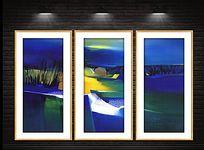 现代抽象艺术装饰画