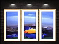 现代抽象装饰高清油画