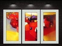 现代抽象装饰画