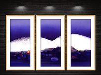 现代抽象装饰油画