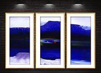 现代抽象装饰油画喷绘稿