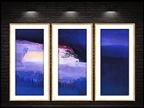 现代创意抽象油画